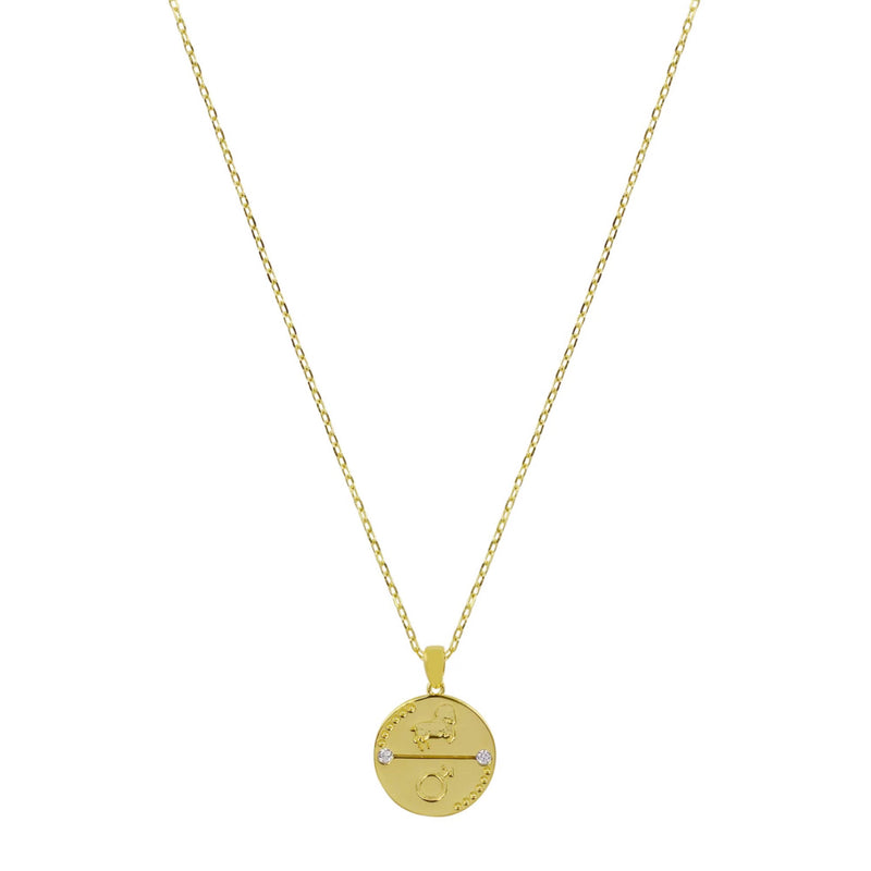 Aries Zodiac Necklace - CVLCHA