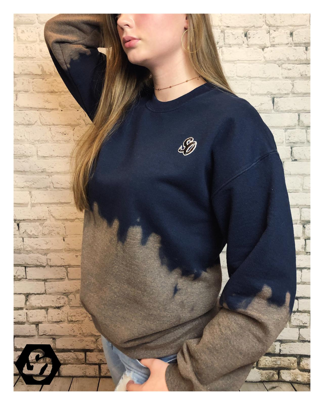Blueberry Ombre Sweatshirt