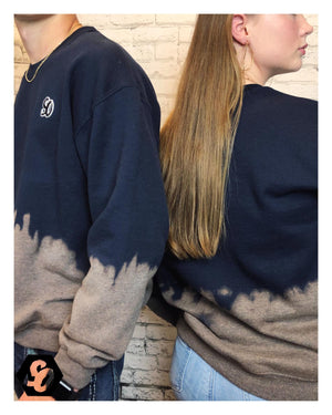 Open image in slideshow, Blueberry Ombre Sweatshirt