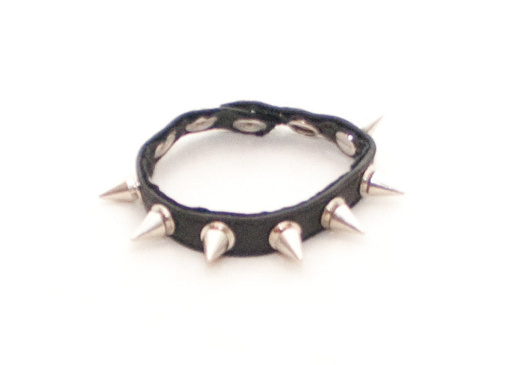 Spiked Leather Cock Strap