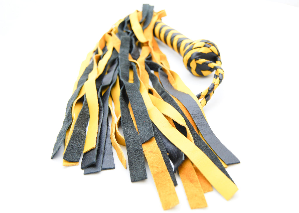 Yellow and Black Flogger