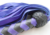 Purple and Black Flogger