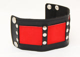 Colored Leather Band with Rivets
