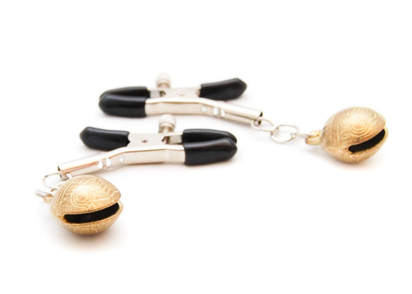 Nipple Clamps with Golden Bells