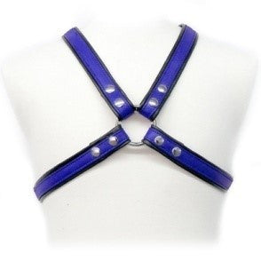 Colored Leather Harness