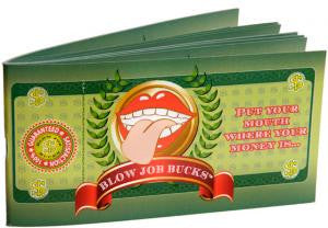 Blow Job Bucks Game