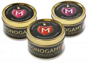 Monogamy Massage Candle 3 Pack