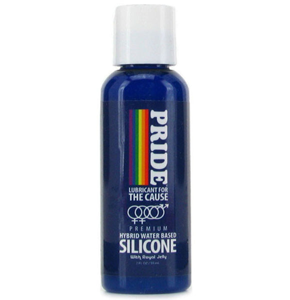 Pride Hybrid Water Based Silicone Lube 2oz