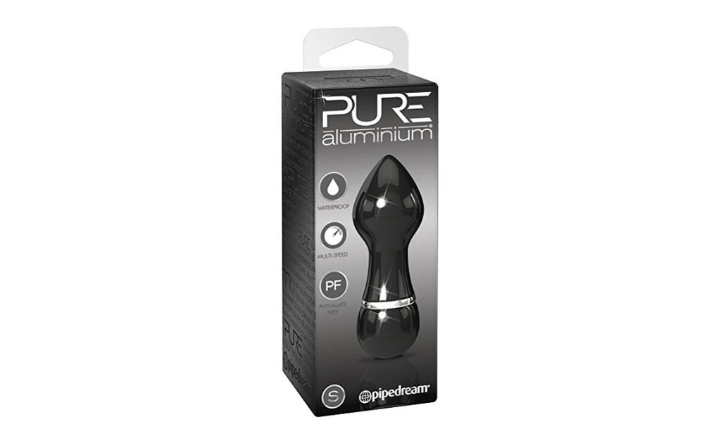 Pure Aluminium, Black, Small