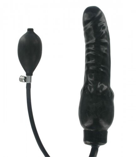 Large Pump-Up Solid Dildo