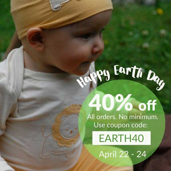 Earth Day Sale - Save 40% off sitewide Apr 22-24 (3 Days only) - CLOSED