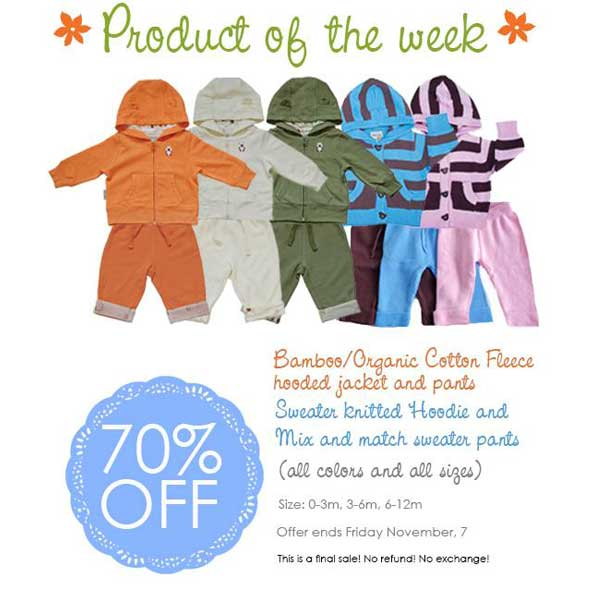 Product of the week Oct 30-Nov 7