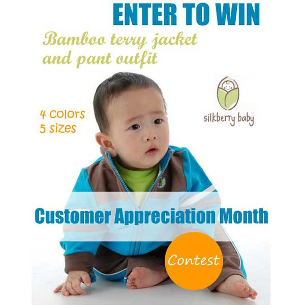 Silkberry Baby Customer Appreciation Month Contest