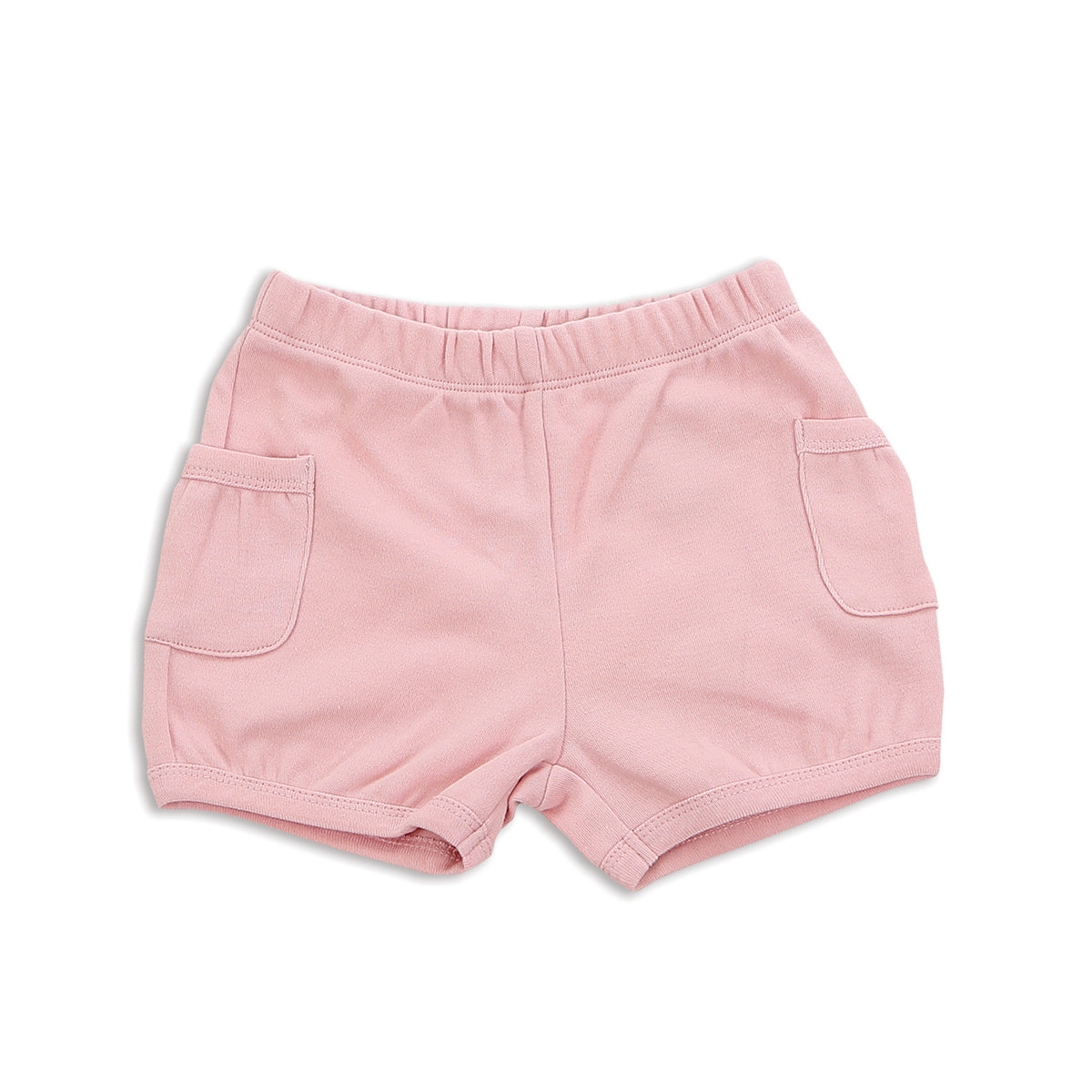 Organic Cotton Pocket Shorts (Natural Pink)