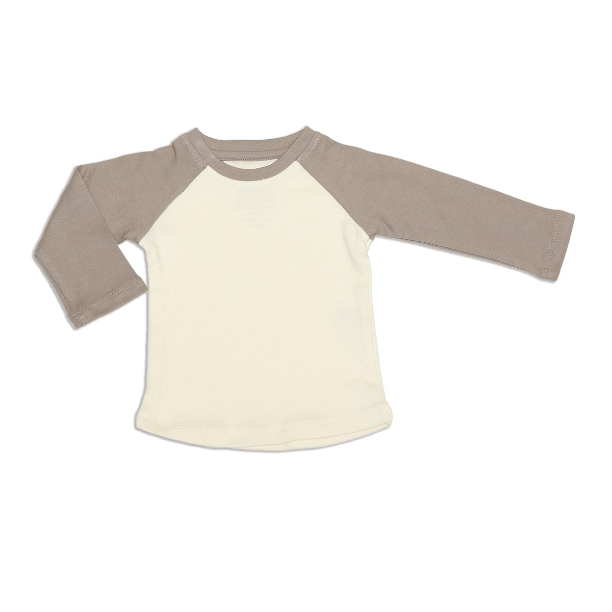 organic cotton baseball tee bear cub color