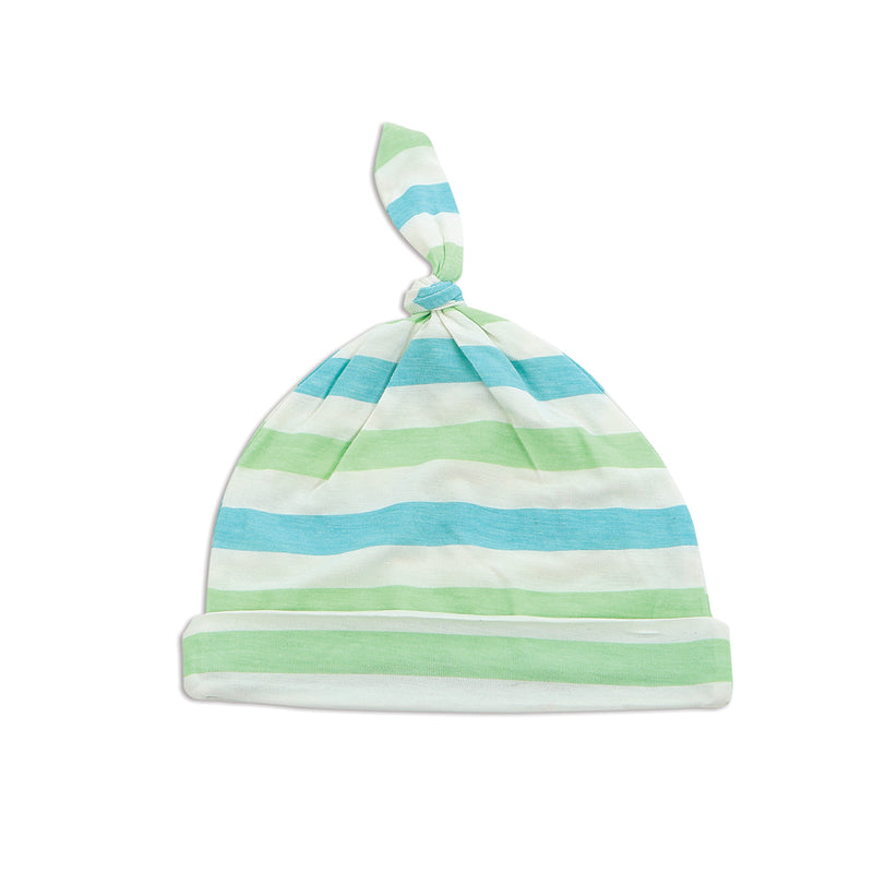 Bamboo Knot Hat (Popsicle Stripe)