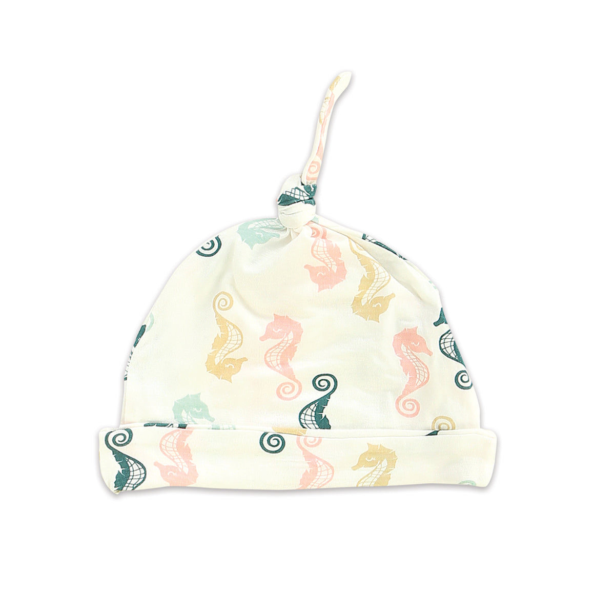 Bamboo Knot Hat - Seahorse Print