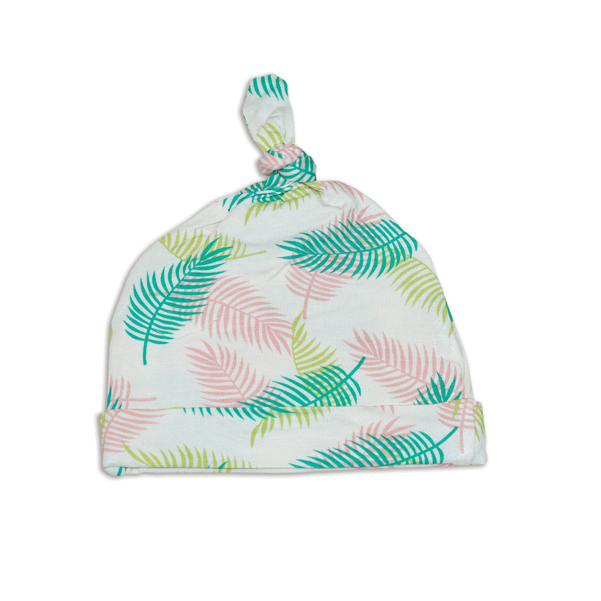 Bamboo Knot Hat (Tropical Palm Print)