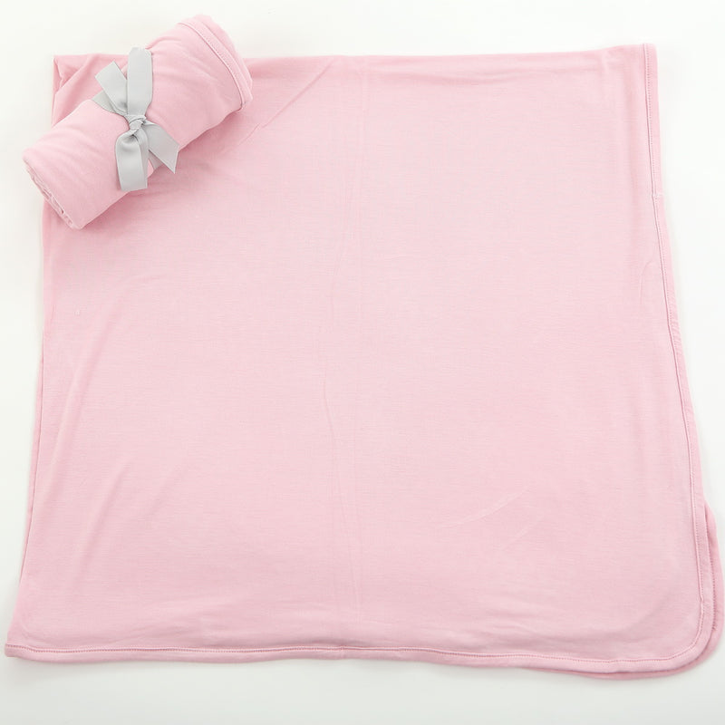 Bamboo Swaddle Blanket - Blossom (solid color)