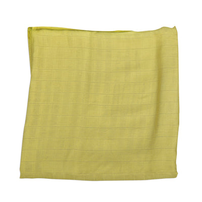 Bamboo Muslin Swaddle Blanket - Pear