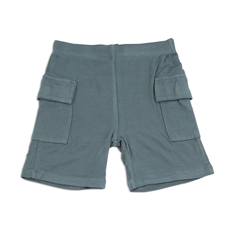 Bamboo Cargo Pocket Shorts (Submarine)