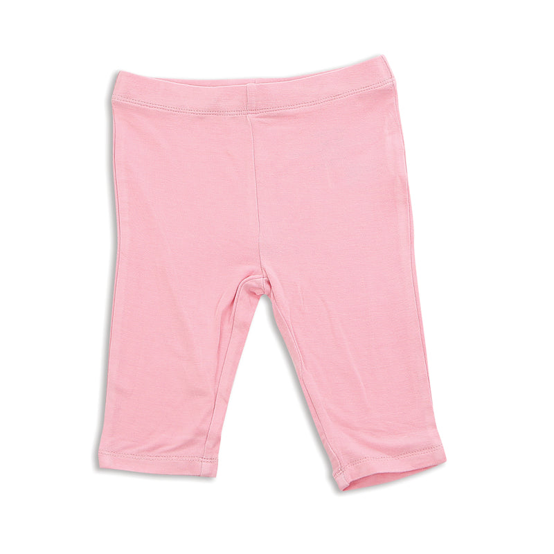 Bamboo Capri Leggings (Ice Cream Pink)