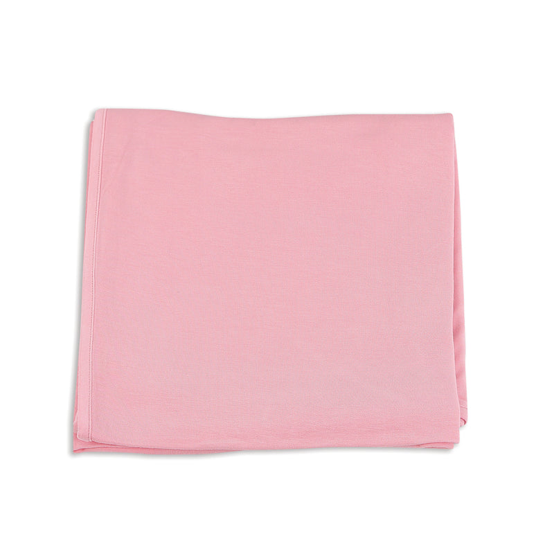 Bamboo Swaddle Blanket (Ice Cream Pink)