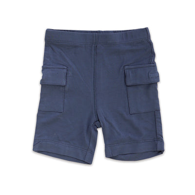 Bamboo Cargo Pocket Shorts (Poseidon)