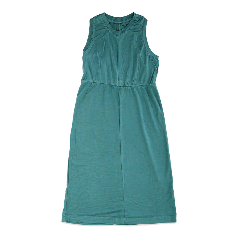 Bamboo Maxi Dress (Stormy Teal)