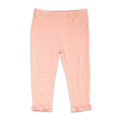 Bamboo Capri Leggings (Powder Pink)