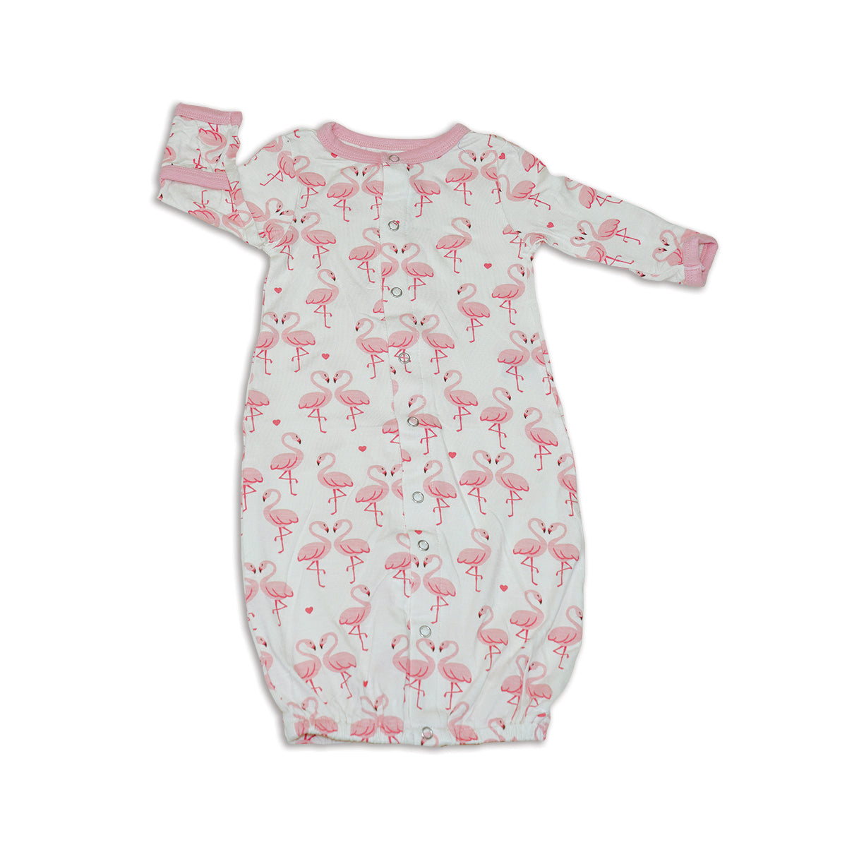 Bamboo Converter Gown (Flamingo Love Print)