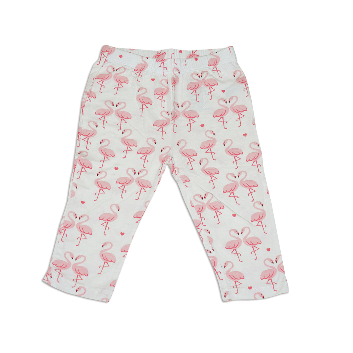 Bamboo Capri Leggings (Flamingo Love)