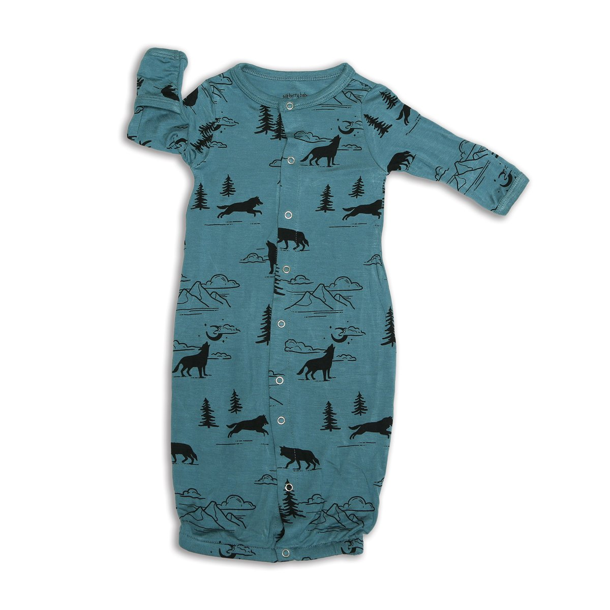 bamboo converter gown call of the wild print