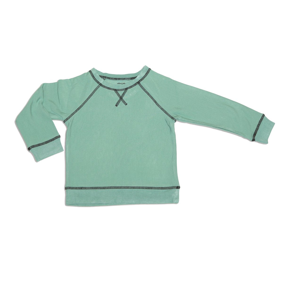 bamboo fleece sweatshirt riverrun color