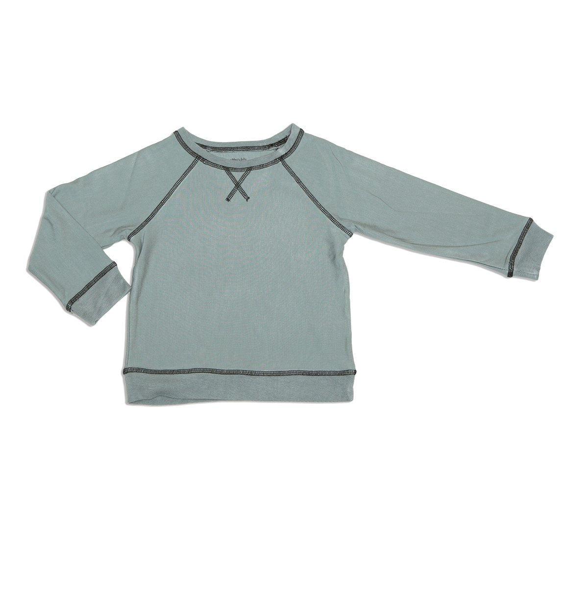 bamboo fleece sweatshirt slate color