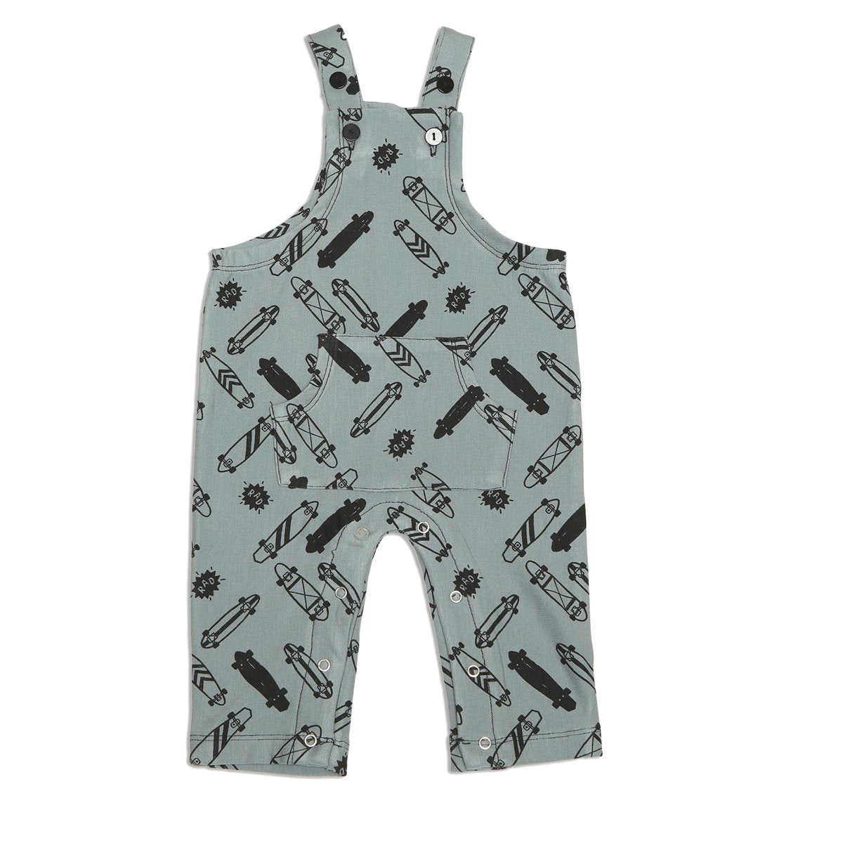 super soft bamboo fleece baby overall