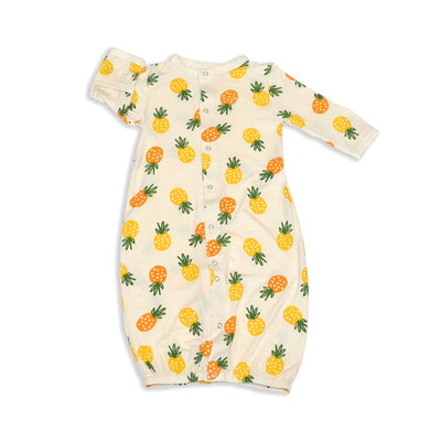 bamboo converter gown pineapple love print