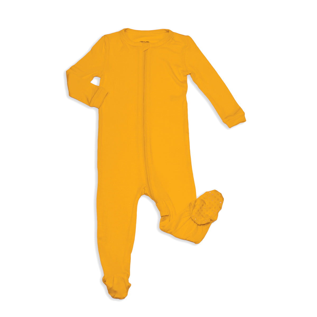 Bamboo Zip-up Footed Sleeper (Sunset)