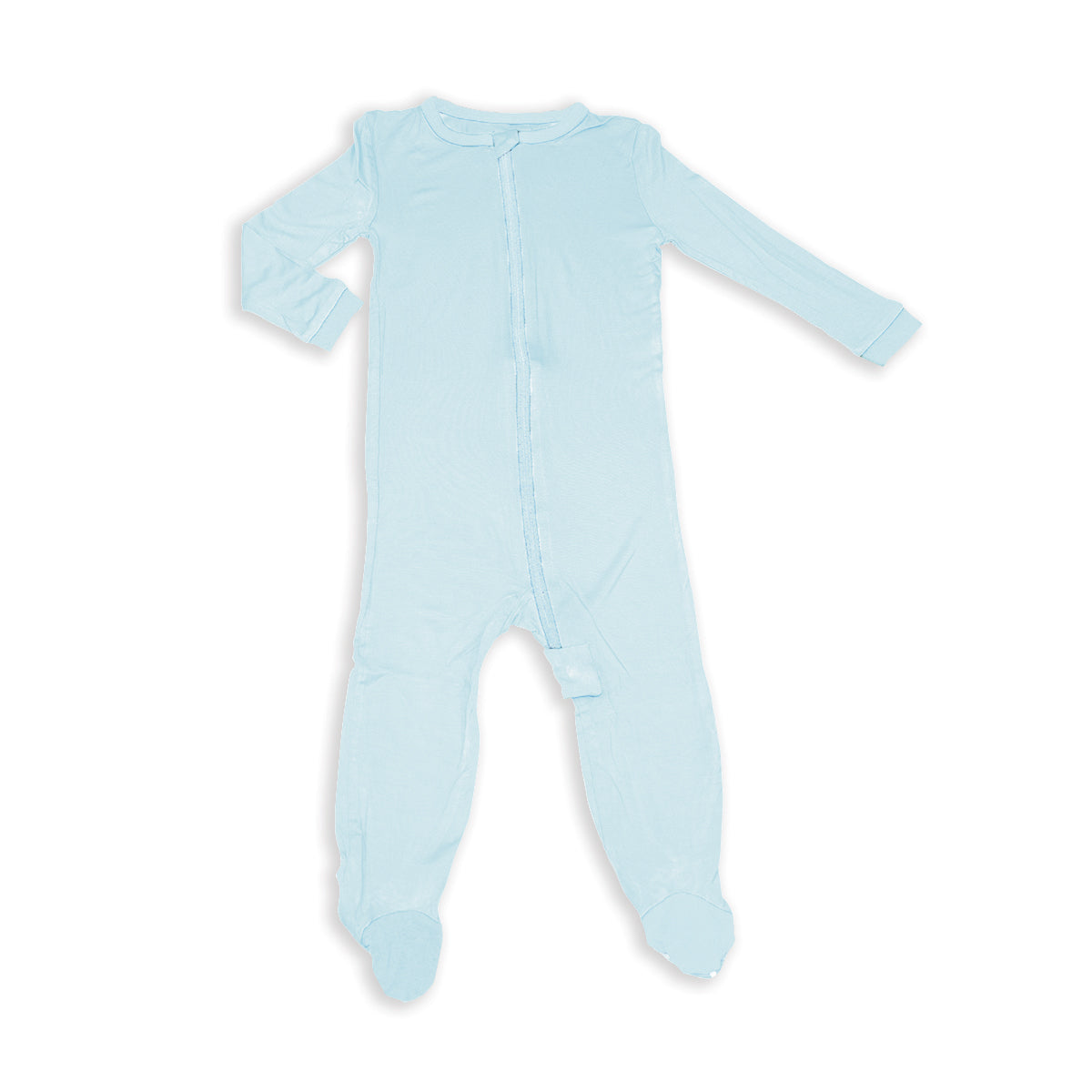 Bamboo Zip-up Footed Sleeper (Starlight)