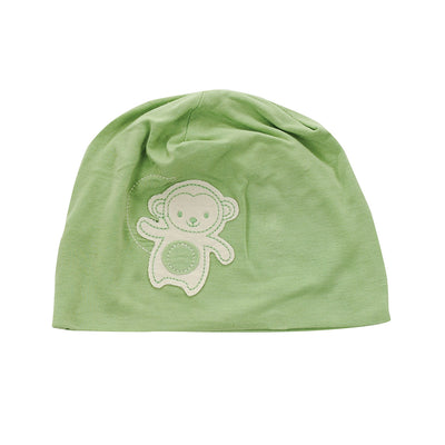 Bamboo Beanie (Color: Pistachio monkey)