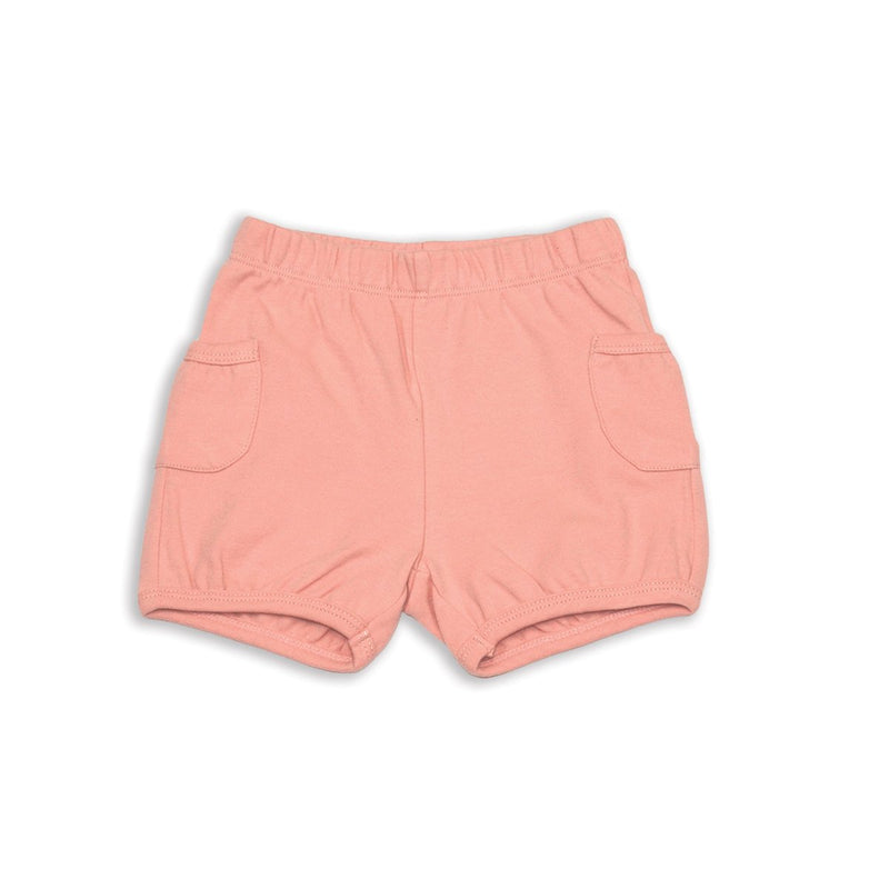 organic cotton pocket shorts for girl