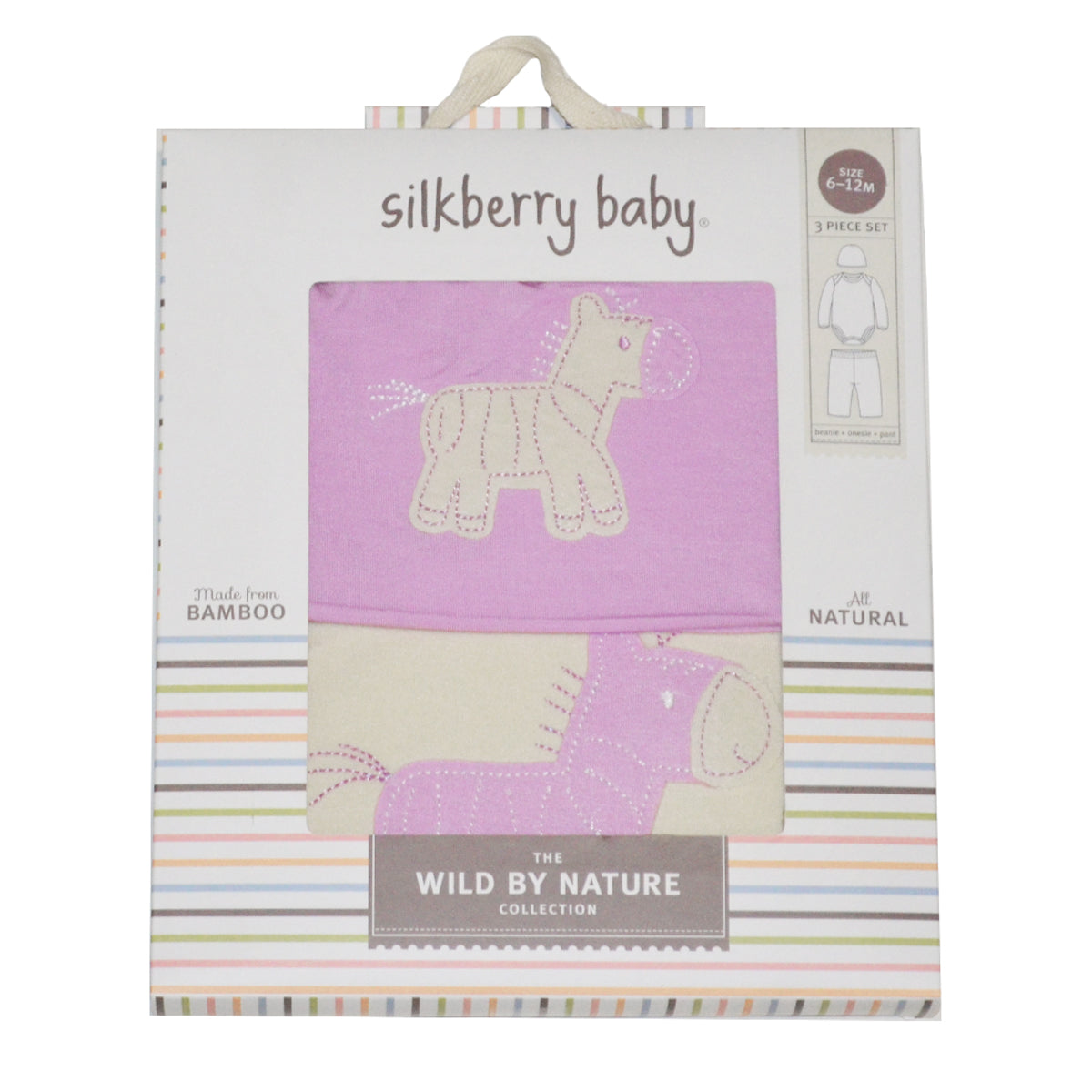 Bamboo Baby Gift Set (Orchid)