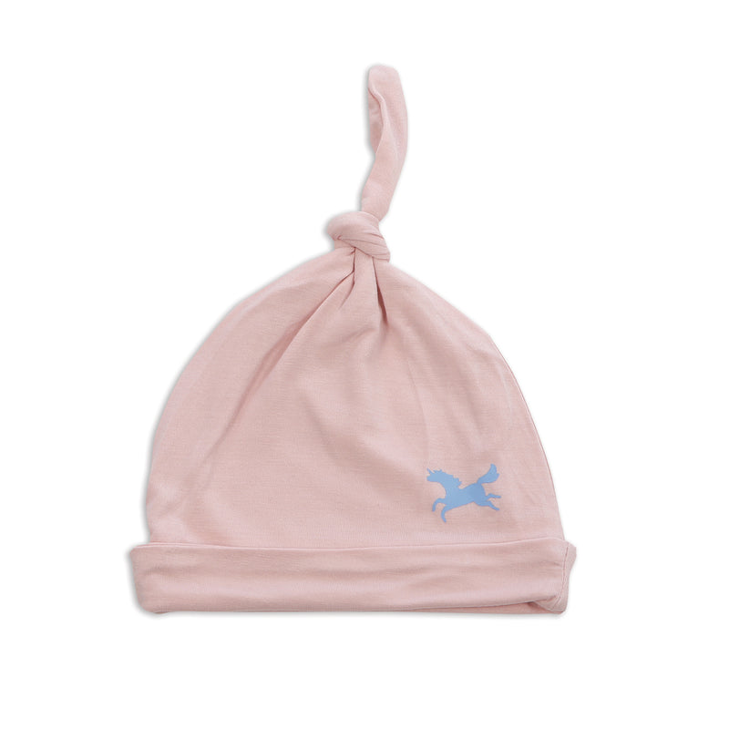 Bamboo Knot Hat (Pink Cloud)