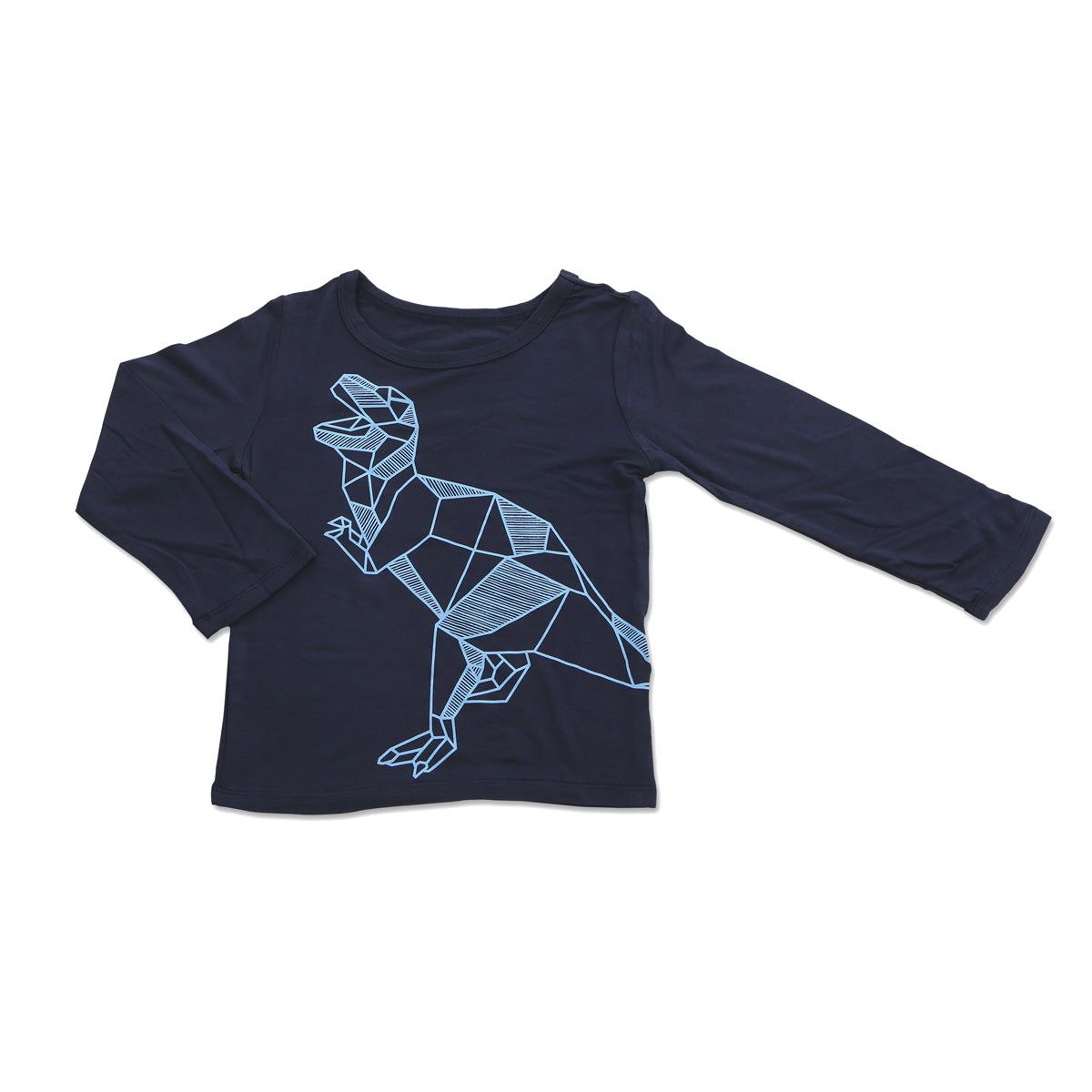 Bamboo Long Sleeve Tee (Indigo)
