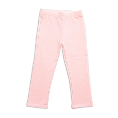 Bamboo Fleece Leggings (Pink Cloud)
