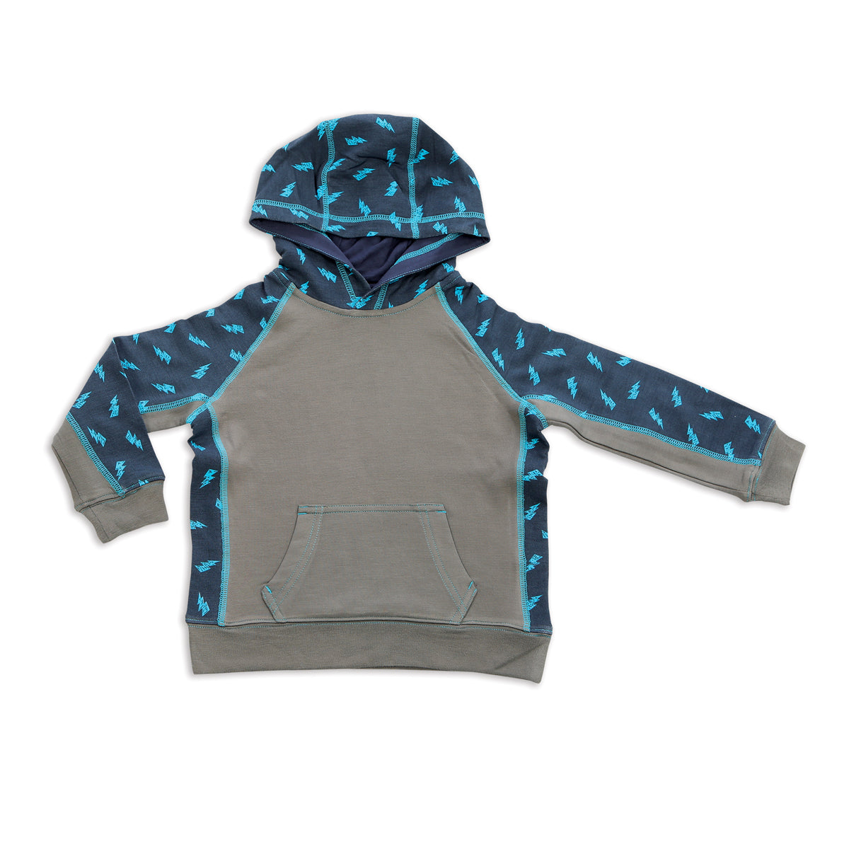 Bamboo Fleece Hooded Jacket (Rhino)