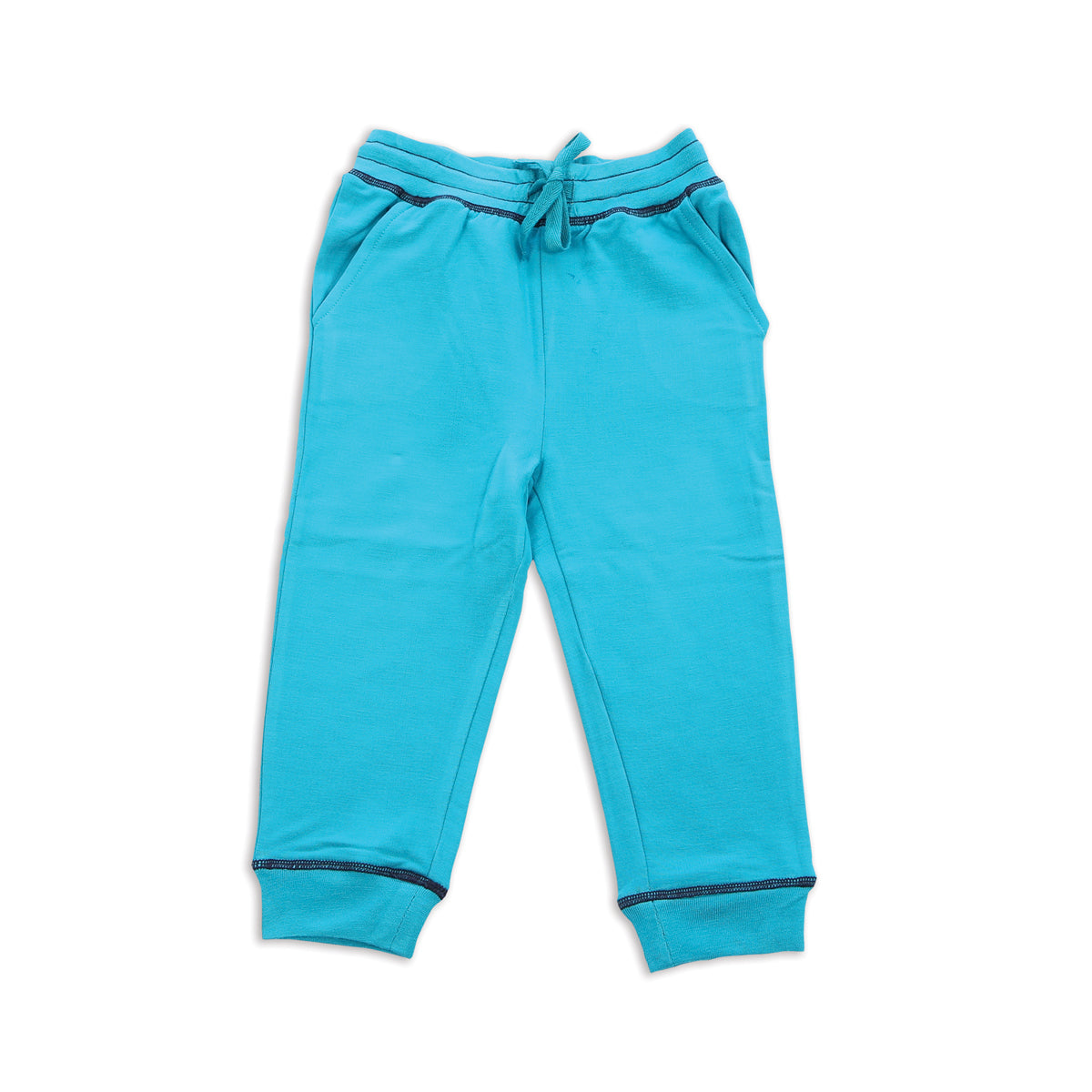 Bamboo Fleece Sweat Pants (Electric Teal)