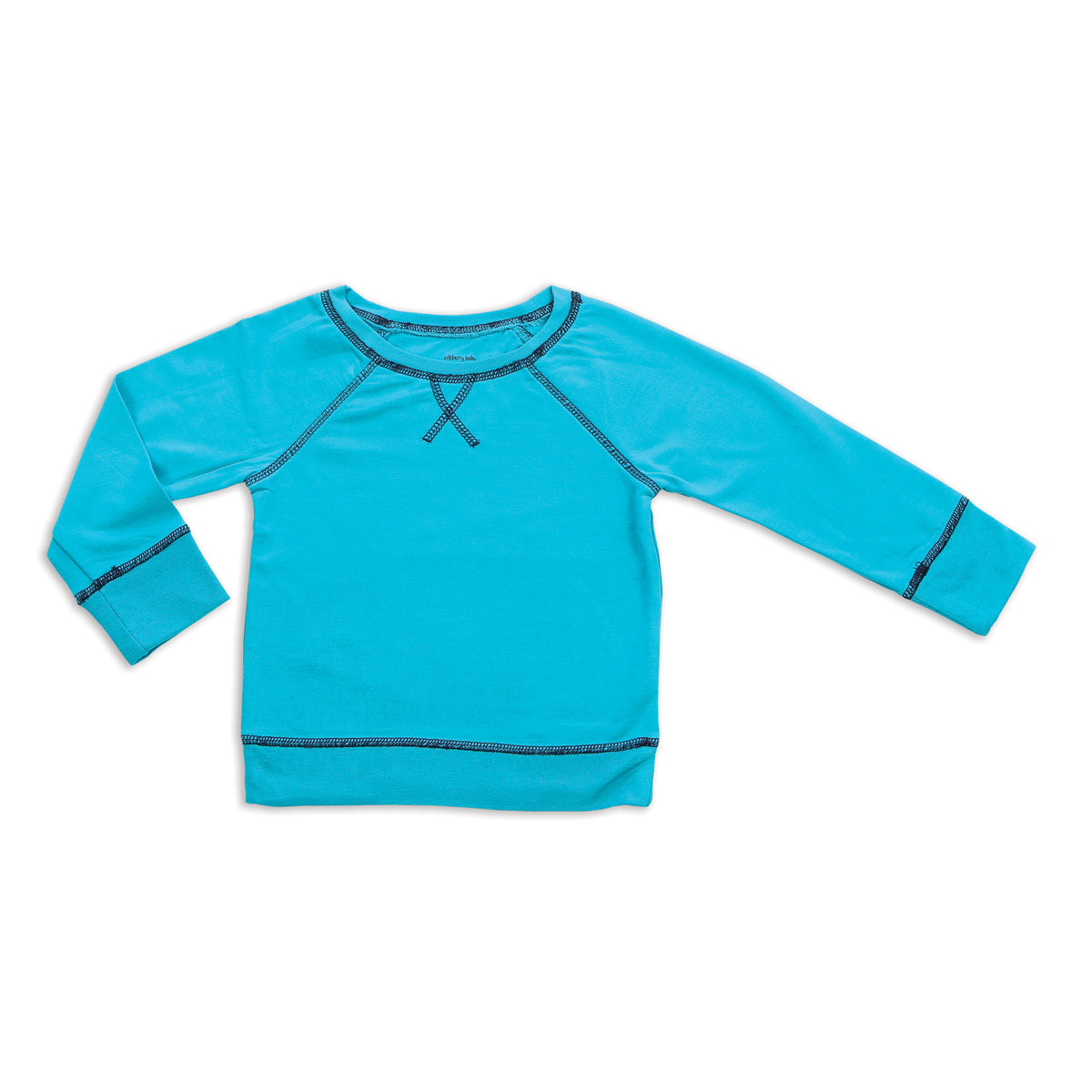 Bamboo Fleece Sweatshirt (Electric Teal)