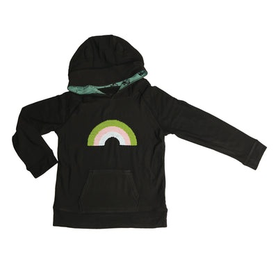 Bamboo Fleece Hoodie (Pirate Ship with Magic Sequins)