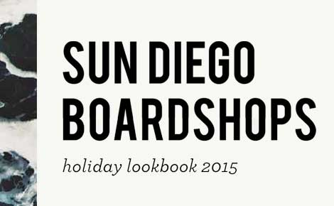 Sun Diego Holiday 2015 Lookbook